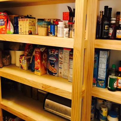 Neat and clean pantry